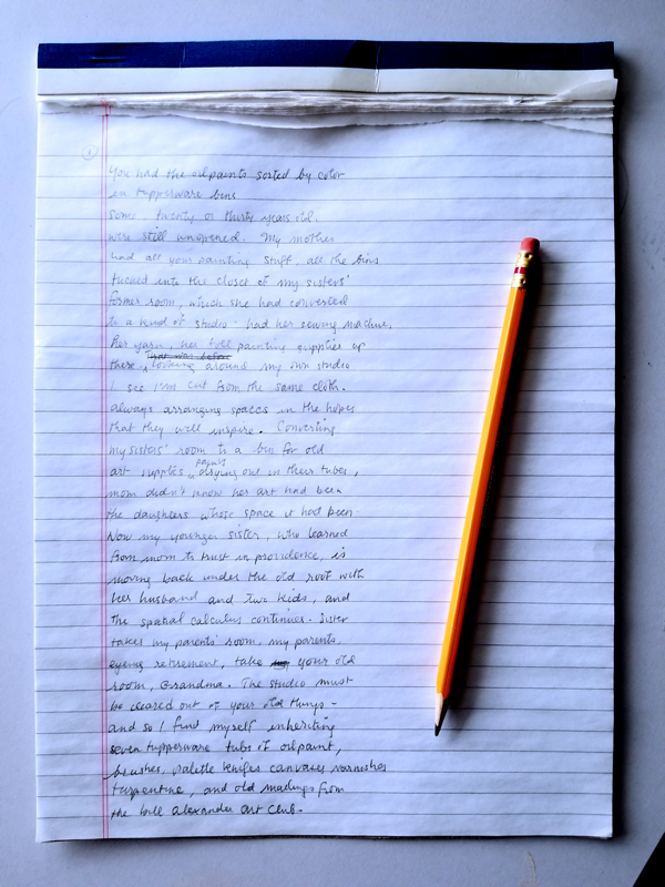 Writing Poetry: A Terrible First Draft