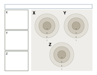 Bull's Eye Rubric, Variations